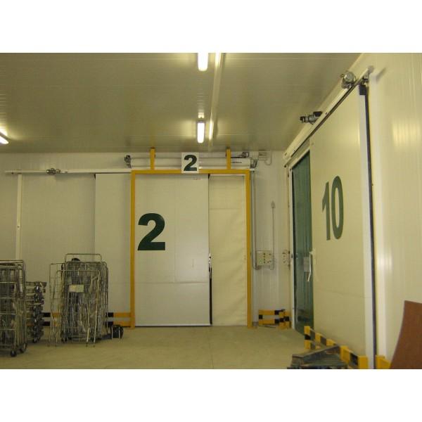 Puerta biport frigorífica