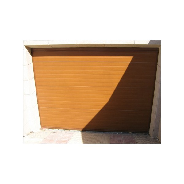Puerta corredera sandwich madera