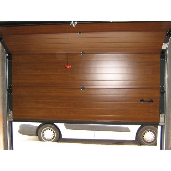 Puerta imitación madera clara interior
