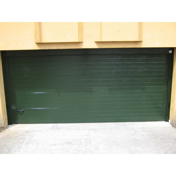 Puerta exterior sectorial residencial RAL 6005
